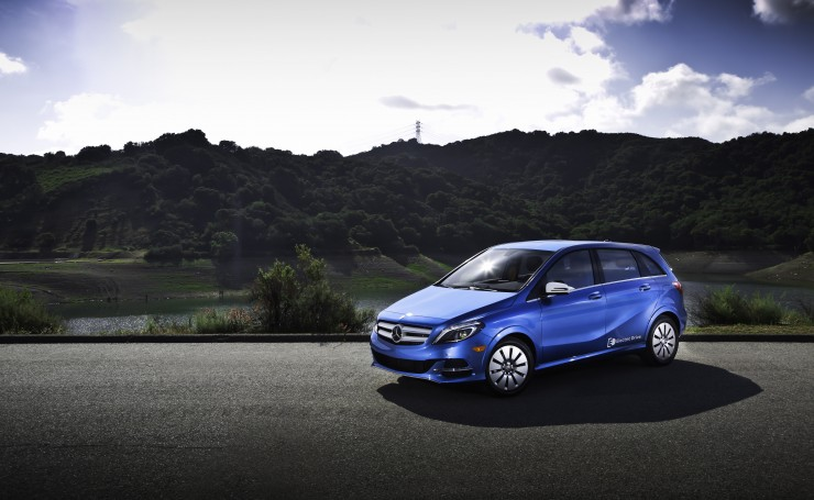 2014 Mercedes-Benz B-klasse Electric Drive