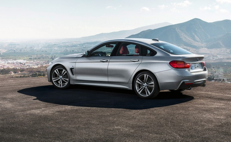 2015 Bmw 4-series Gran Coupe сзади