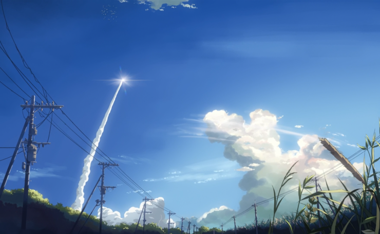Аниме 5 Centimeters Per Second