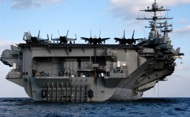 Авианосец USS Harry S. Truman