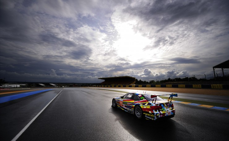 BMW Art Car из гонки Le Mans 24 часа