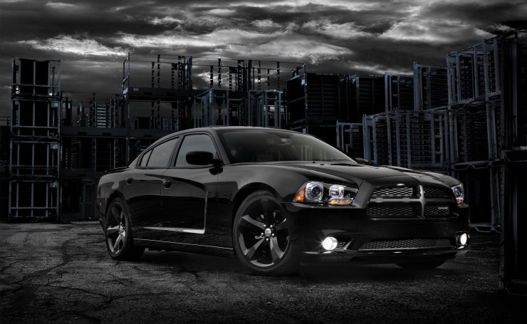 Dodge Charger Blacktop 2012