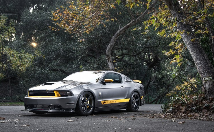Ford Mustang GT Chicane