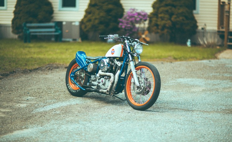 Harley-Davidson Sportster Gulf by DP Customs
