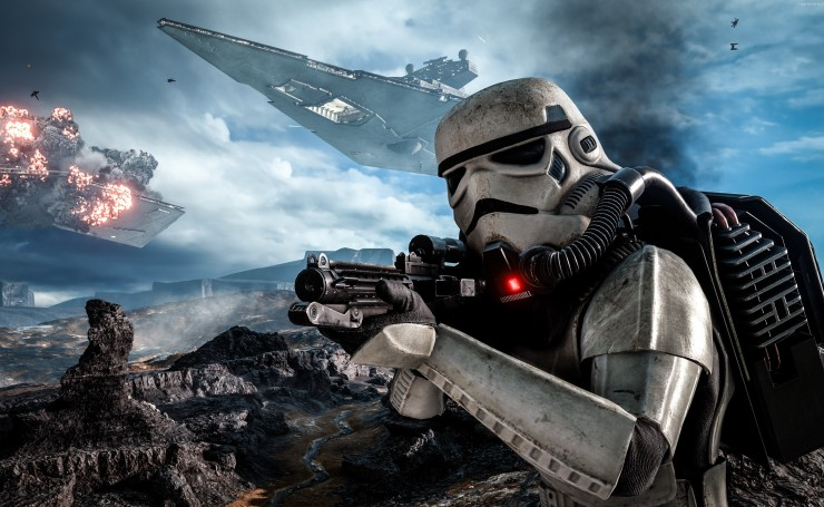 Игра Star Wars Battlefront 2016