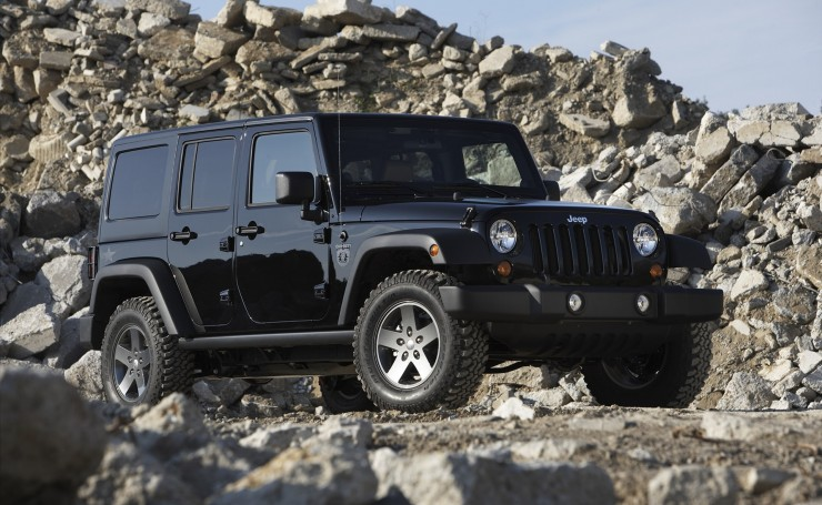 Jeep Wrangler Call of Duty Black Ops 2011