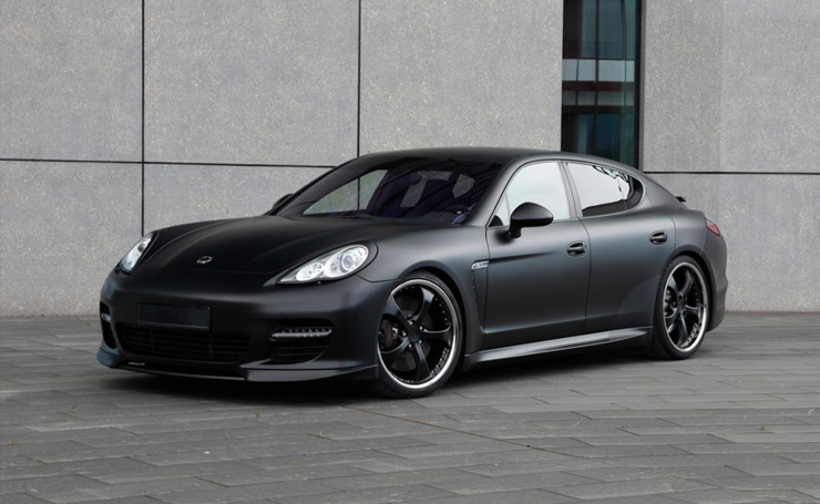 Обои Panamera TECHART Black Edition