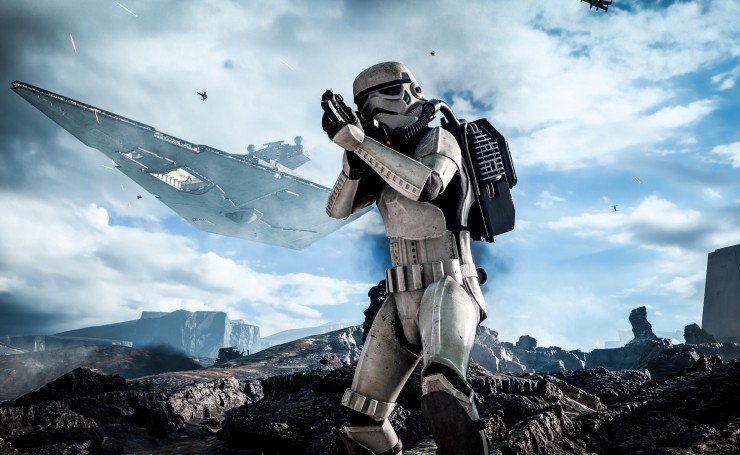 Star Wars Battlefront, Stormtrooper