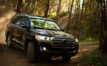 2016 Toyota Land Cruiser в лесу