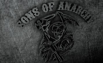 3D логотип Sons of Anarchy