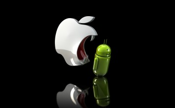 Apple пожирает Android