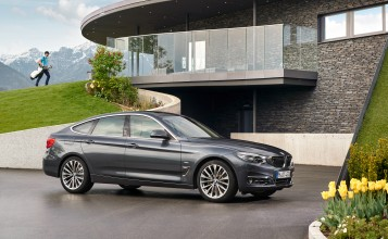 Обои BMW 3-Series Gran Turismo Luxury 2016