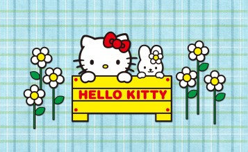 Обои Hello Kitty мультфильм