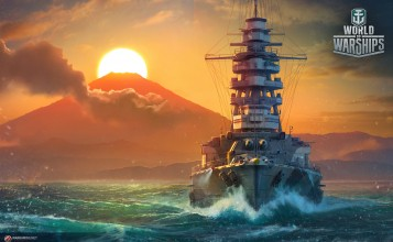 Линкор Mutsu, World of Warships