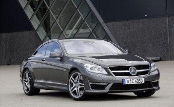 Mercedes-Benz CL63 AMG 2011 серый