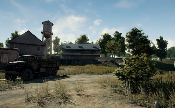 Пейзаж игры Playerunknown's Battlegrounds