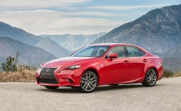 Обои Lexus IS 2016