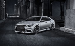 Обои Lexus LS 460 Five Axis