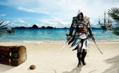Assassin Creed 4, пляж