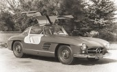 Mercedes Benz 300SL Coupe BW