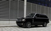 Range Rover Black Edition черный 2011