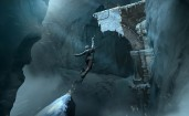 Rise of The Tomb Raider, Лара в прыжке