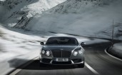 Серебристый Bentley Continental GT V8