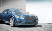 Синий Bentley Continental