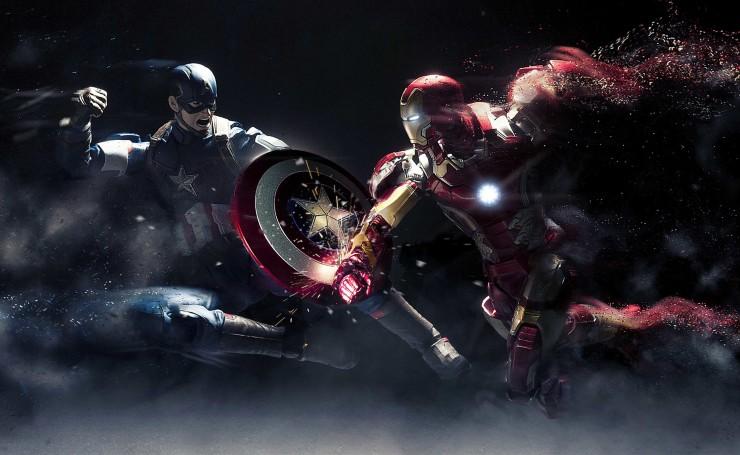 смотреть железный человек против капитана америки
